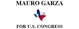 COMMITTE TO ELECT MAURO GARZA FOR US GONGRESS LOGO